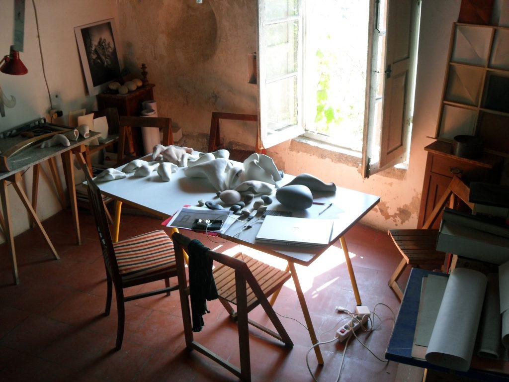 Atelier / Foto: Dirk Pörschmann